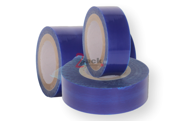 Oberflächenschutzfolie, 1250 mm x 100 m, blau-transparent