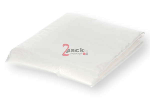 HDPE-Säcke für E2 Kisten (650+450x650mm Typ 10), transparent, lebensmittelecht